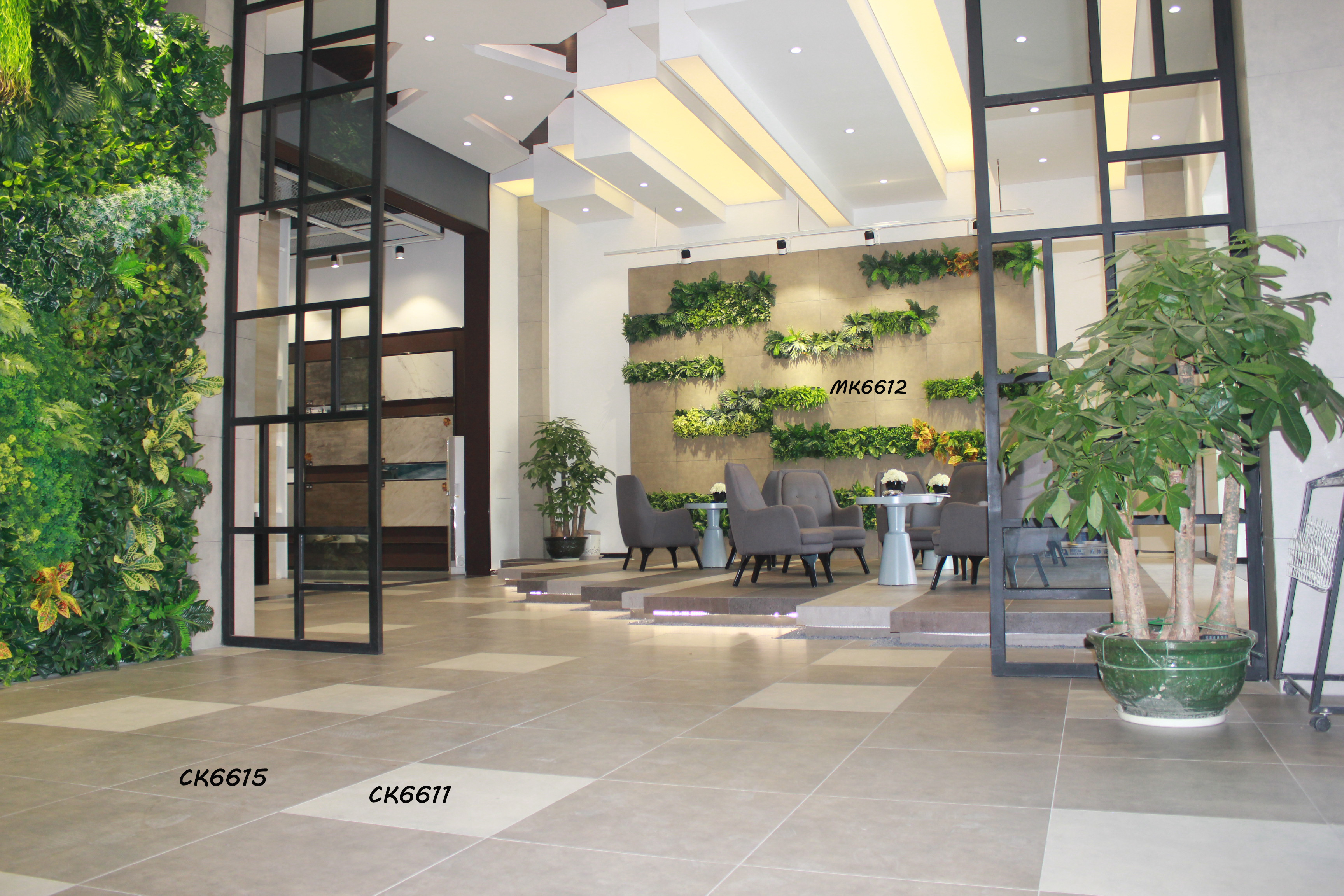 恺瑟格斯陶瓷酒店大厅案列